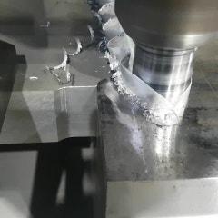 [동영상] 알루미늄 마찰교반용접 깊이 45mm
