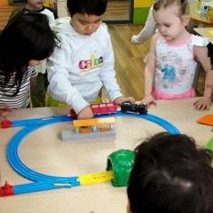 기차 놀이 하면서 영어 익히기