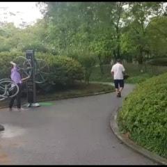 아침산책 영상 (2019.8월. 영등포공원 풍경)