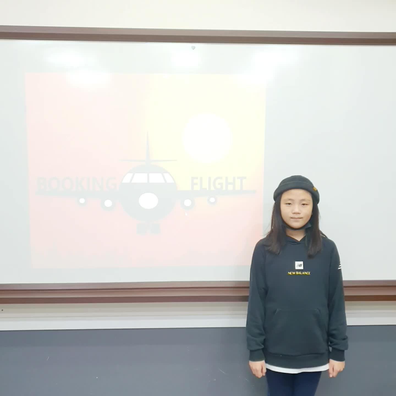 부곡초 4학년 홍주아 12월 - 블로그