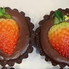 다양한 품목을 만들기 위해서는 기본 레시피가 중요합니다+ 급 만든 딸기초코타르트 +글루텐프리+비건