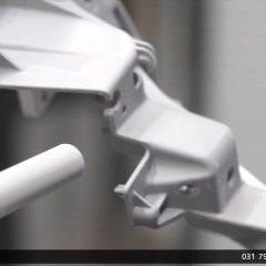 드라이아이스세척기 : 플라스틱제품의 플래시나 버 제거영상 (바테크)