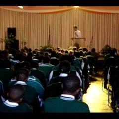 아프리카여행 _ 스와질랜드 사임고등학교 강의 일부
