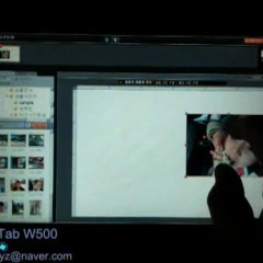 아이코니아 W500 포토앨범 동영상2