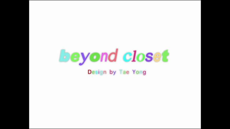 beyondcloset 2014 S/S collection behind scene.