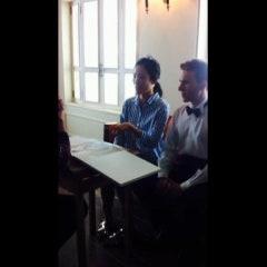 깨끗하고 고급스러운 오브스튜디오 지현신부님 촬영날 180일의 결혼이야기 김민경실장