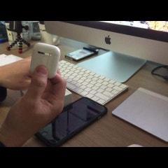 애플 에어팟(Apple air pods) 개봉기 (기어 아이콘x 와 비교)