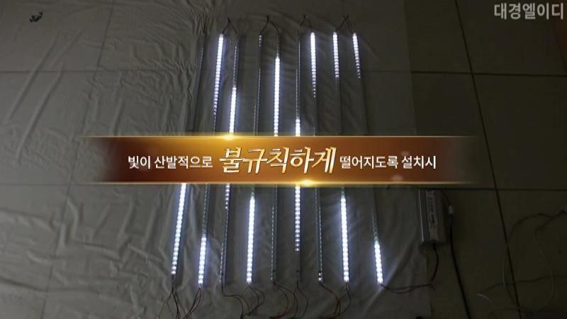 DK LED스노우폴 점등 동영상