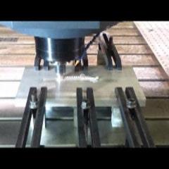 [동영상] 마찰교반용접(FSW) - 필렛 용접 기술