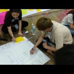 소규모학교 연합축제 준비를 위한 축제준비위원회 캠프 진행