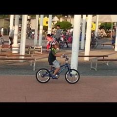 두기 수기 페달 자전거 도전